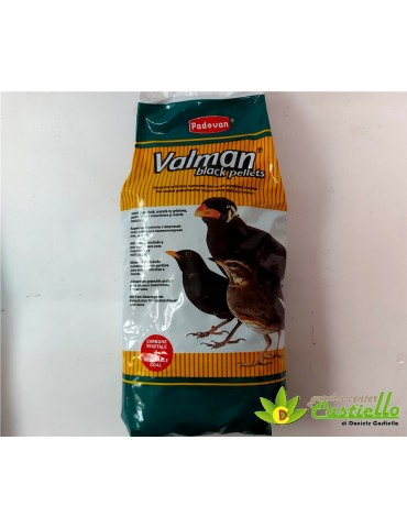 Valman black pellets-...